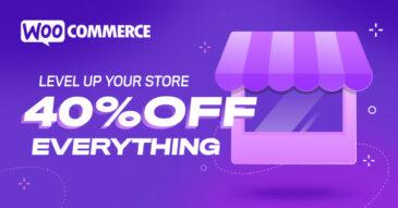 WooCommerce.com, 40% 할인이 시작되었습니다.