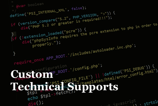 custom techinical supports for danbi hosting