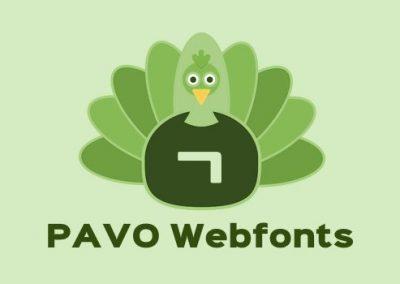 파보 웹폰트
